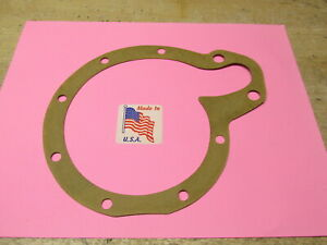 1936 - 1940 BUICK 320 8 CYLINDER WATER PUMP BACK PLATE GASKET 60 80 90 SERIES