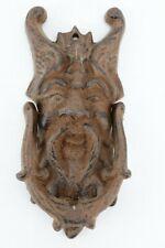 Cast Iron god Of The North Wind Doorknocker