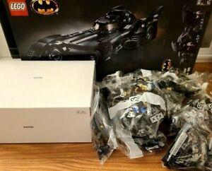 LEGO DC Batman 1989 Batmobile 76139 3,306 Pieces - NO RETAIL BOX - SEALED BAGS