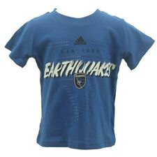San Jose Earthquakes Official Genuine MLS Infant Toddler Adidas T-Shirt New