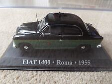 FIAT 1400 ROMA TAXI 1955 DIECAST CAR 1:43 NEW