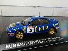 1/43 IXO Altaya Subaru Impreza 555 Colin McRae RAC Rally 1995 Rallye GB