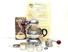 Vintage Brevetti Robbiati Atomic Espresso Machine / Cappuccino Maker