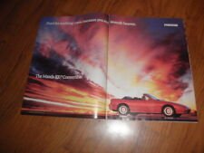 "MAZDA RX-7 CONVERTIBLE  PROMO AD-""Seventh Heaven-1989-Original Magazine Print"