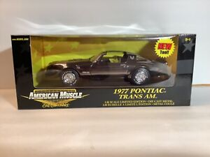 New 1:18 1977 Trans-Am. Black Chrome Chase Car. Limited Edition # 36673