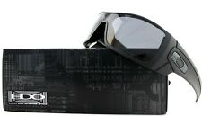 POLARIZED NEW Genuine OAKLEY BATWOLF Matte Black Grey Wrap Sunglasses OO 9101-04