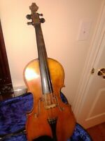 Old Violin 19th Century Germany Made.