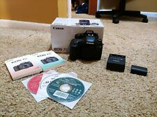 Canon EOS 7D 18.0 MP Digital SLR Camera - Black: Original Box, Software, Battery