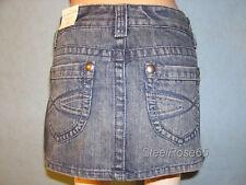 NEW Aeropostale Junior Girls Denim Blue Jean Mini Skirt 9/10