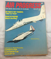 Air Progress Magazine  Vintage Airplane Aviation 1969 Northrop T-38 Talon Texan