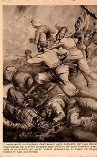 WW2 CARTOLINA AOI GLI AVVENIMENTI ILLUSTRATI ascari colonie eritrea