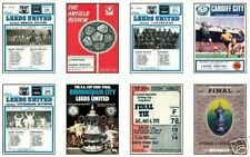 Leeds United FA Cup 1972 Programme Trading Card Set