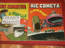 NIC COMETA IL RIBELLE RARA COLLEZIONE COMPLETA-N°1/2-DEL 1968-MONDADORI NUOVI