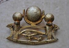 Vintage Egyptian silver-gold plated Brooch Pendant