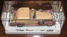 SOLIDO AGE D'OR NEUF + BOITE 1/43me DELAGE COUPE 4051