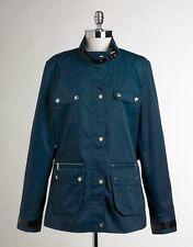Nwt CALVIN KLEIN Water Repellant Utility Pocket Jacket Anorak Top Legion Blue 0X