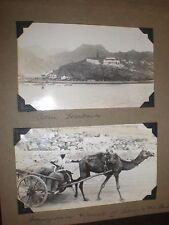 2 old photographs Aden c1940s