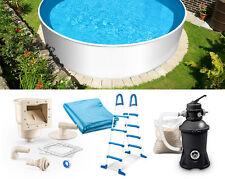 Stahlwandpools schwimmbecken ebay for Schwimmbecken stahlwand set
