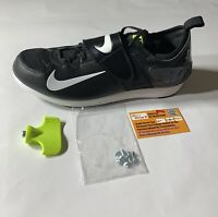 Nike Zoom PV II Pole Vault Track & Field Spikes Black Men's SZ (317404-017)