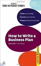 How to Write a Business Plan: (Creating Success Ser. by Finch, Brian Paperback