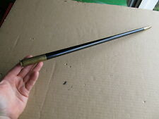 Wooden Military Swagger Stick Can White Maurauders 1955