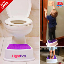 Training Toilet Potty Kids Toddler Baby Step Up Stool Ladder Trainer Child Girl