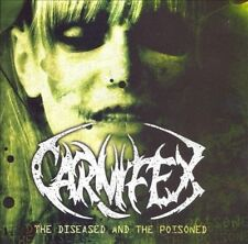 The Diseased and the Poisoned [PA] by Carnifex (CD, Jun-2008, Victory Records)