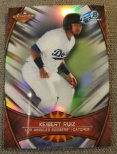 2019 Bowman Chrome Keibert Ruiz RC Arizona Fall League Refractor L.A. Dodgers
