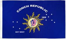 "KEY WEST 3X5' FLAG NEW CONCH REPUBLIC 36x60"" BIG"