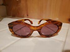 Vintage Emmanuelle Khanh Tortoise Sunglasses Handmade In France