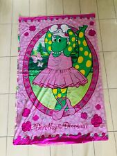 RARE DOROTHY THE DINOSAUR WIGGLES 2007 SINGLE QUILT COVER