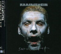 Sehnsucht Extra tracks Rammstein Polydor CD Music 1998 Japan import New F/S