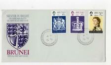 BRUNEI: 1977 Silver Jubilee first day cover (C47858)