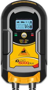 Panther IQLoad 15000plus Batterie Ladegerät 12V 24V Starthilfe Säurebatterie AGM