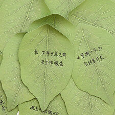 Exquisite 1pcs Leaves Post it Stationery Sticky Notes Cute Sticker Leave Message