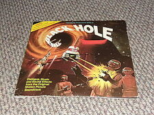 THE BLACK HOLE WITH RECORD (RECORD IS VERY GOOD) COVER ACCEPTABLE