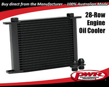 PWR ENGINE OIL COOLER 28-ROW 280x256x37mm Dash -10 AN / Dash -12 AN PWO5933