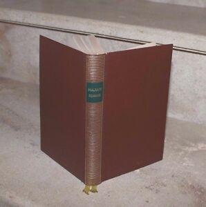 André Malraux /  romans,  pleiade, 1960