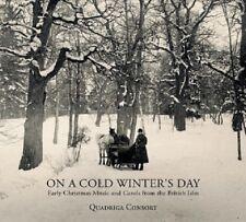 QUADRIGA CONSORT - ON A COLD WINTER'S DAY - EARLY CHRISTMAS MUSIC  CD NEU