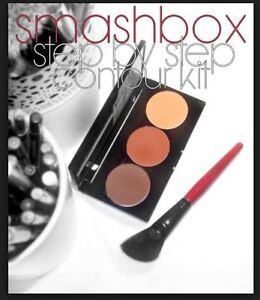 SMASHBOX STEP-BY-STEP DEEP WITH BRUSH MEDIUM DARK - NO BOX 100% AUTHENTIC