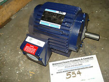 NEW!! Marathon motor E652, 145TTTN6526, 1.5hp, 1750rpm, 145T, 460vac, TENV, 3ph