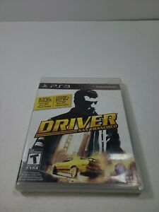 Driver: San Francisco (Sony PlayStation 3, 2011 PS3)NO Manual