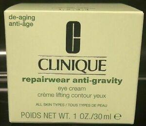 CLINIQUE REPAIRWEAR ANTI-GRAVITY Eye cream 1 oz / 30 ml NIB De-Aging