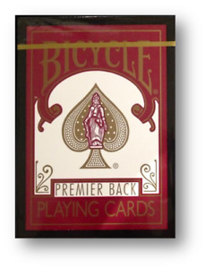 Premier Back Bicycle By BMPokerworld Poker Playing Cards Cardistry