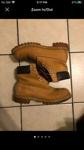 Timberland Waterproof Boot for Men Size 10 - Wheat Nubuck
