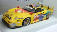 UT Models 1:18 Porsche 911 GT1 LeMans EXXON #01 in OVP (A699)