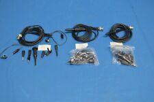 3x 100MHz Oscilloscope Scope Analyzer Clip Probe Test Leads Kit