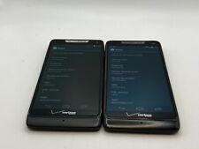 2 Motorola Droid RAZR M - 8GB - Black (Verizon) Unlocked