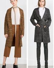 Zara Acrylic Blend Long Jumpers & Cardigans for Women