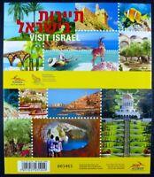 Israel 2013 Tourismus Tourisms Landschaften Tiere Geschichte Markenheft MNH